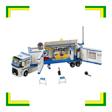 394pcs 2016 BELA 10420 City Police Mobile Police Unit building blocks Action Figures Model Toys(China)