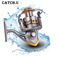 Dual Brake Feeder Fishing Reel 13BB Carp Reel Tackle For Fishing Spinning Free Spare Coil