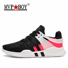 New Arrivals MVP BOY Men's Running Shoes Mesh(Air Mesh) Breathable Jogging Sneakers Lightweight Outdoor Fitness Sport Shoes Male