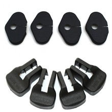 8Pcs/set Car Door Lock Decoration Cover Car Covers Door Stopper Protection Cover For Chevrolet Cruze 2009-2014