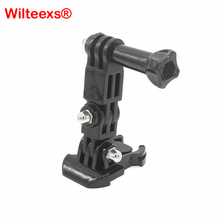 Buy WILTEEXS Basic Mount + Three-way Adjustable Pivot Arms Screw Hero 1/2/3/3+/4 Xiaomi Yi SJCAM SJ4000 Accessories for $1.35 in AliExpress store
