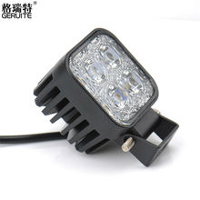 1pcs 12V 12W Work Waterproof High Power Spot Light Off-board Car Boat Worklight For SUV Truck Car-styling