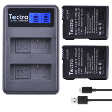 Buy 2Pcs EN-EL14A EN-EL14 Battery Bateria + LCD USB Dual Charger Nikon D3400 D3300 D3100 D5600 D5100 D5200 D3200 P7000 P7100 for $25.38 in AliExpress store