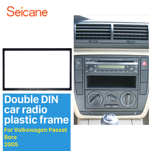 Auto Radio Double 2 Din Car Fascias to Car DVD GPS Stereo Player Decorative Frame for 1998-2015 VW Volkswagen 178 * 102MM Frame