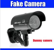 cctv camera fake camera bullet outdoor Emulational dummy camera Surveillance Security for Home Security Night CAM LED Light