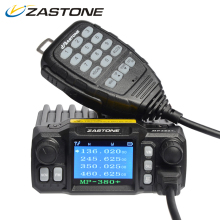 Zastone ZT-MP380+ Mini Mobile Radio Car Transceiver VHF UHF 25W/20W Dual band Quad-standby 200CH Walkie Talkie Car Radio Station