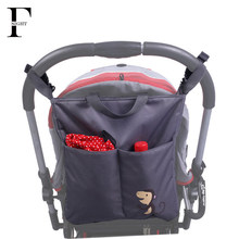 Portable Tote Diaper Bag Multifunction Shoulder baby bag Mother Maternity baby care nappy changing stroller bag for wheelchairs