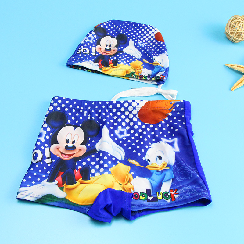 Disney Hombre Mickey Mouse Ba/ñadores de nataci/ón
