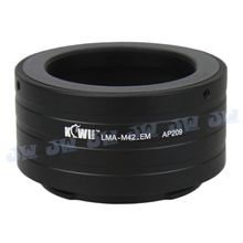 KIWIFOTOS MOUNT ADAPTER RING For M42 LENS For Sony NEX3 NEX7 NEX5 NEX5R NEX C3 3N 5N NEX-6 E MOUNT CAMERA