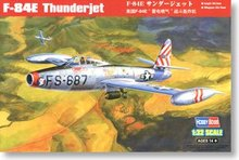 Hobby Boss 1/32 scale aircraft models 83207 F-84E Lightning Battle Bomber(China)