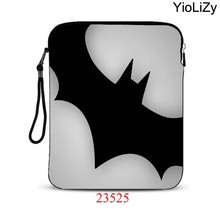 bat print 9.7 inch tablet bag 10.1 smart notebook sleeve pouch mini laptop protective Case Cover For apple ipad air 2 IP-23525(China)