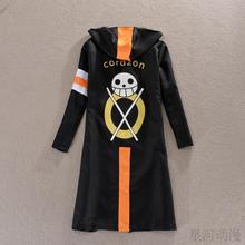 Original One Piece Cosplay Trafalgar Law Costume 3rd Generation Cloak for party and halloween