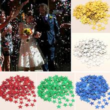 3000pcs Colorful Shine Sparkle Stars 6mm Confetti Table Wedding Party Christmas Decoration Magic Room Party Happy Birthday Decor