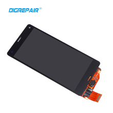 "4.5"" Black For Sony Xperia Z3 Mini Compact D5803 D5833 LCD Display Touch Screen Digitizer Assembly, Free Shipping+Track No."