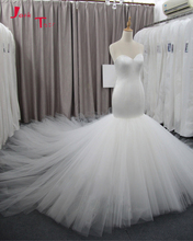 Buy Jark Tozr Custom Made Chapel Train China Wedding Gowns 2018 Robe De Mariee Satin Tulle Simple Mermaid Bridal Dresses Mariage for $199.58 in AliExpress store