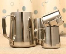 Stainless Steel Milk frothing jug Espresso Coffee Pitcher Barista Craft Coffee Latte Coffee Tool 350ml 600ml 1000ml