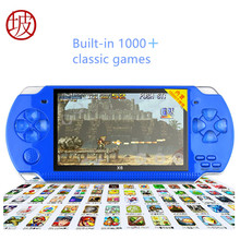 CoolBaby X6 Handheld Game Player 4.3 inch 8GB Portable MP4 Video Game Console Camera E-book Built-in Free 1000+ Games TV Output(China)