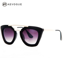 AEVOGUE Brand Design Butterfly Vintage Eyewear Sunglasses Women Most Popular Good Quality Sun Glasses Female UV400 AE0132(China)