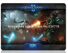 StarCraft 2 mousepad classic hot sales gaming mouse pad personalized gamer large keyboard computer mouse mat play mats padmouse