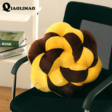 Buy Europe Rose Floral Seat Cushion Chair Seat Cushion Tatami Mats 100% Crystal Velvet Warm Floor Cushion Pad Car Mat Chair 45*45 CM for $13.25 in AliExpress store