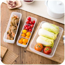Japan imported refrigerator storage box finishing kitchen refrigerated drawer plastic storage box glove box