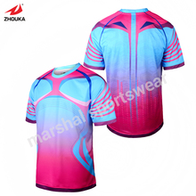 football jerseys made in thailand personalized baseball jerseys men's football jerseys(China)