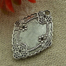 180 pieces tibetan silver nice charms 31x22mm #2170