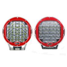 2 pcs 96w 8160lm led work light 9inch off road Driving Red lamps for SUV bumper Car Truck(China)