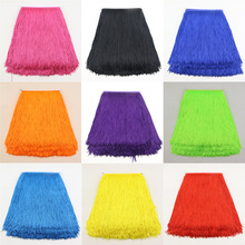 5 yards/Lot 15CM Width Polyester Tassel lace Fringe Trim For DIY Latin Dress Garment Accessory Tassel Ribbon Lace Decoration