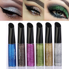 Brand Makeup Glitter Eye shadow Pencil Pen Waterproof Shining Liquid Eyeshadow Beauty Tool Korea Cosmetic Gift For Girl
