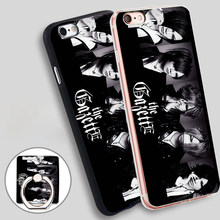 The GazettE five Phone Ring Holder Soft TPU Silicone Case Cover for iPhone 4 4S 5C 5 SE 5S 6 6S 7 Plus