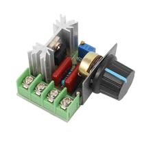 Unit 220V 2000W AC SCR Voltage Regulator Dimmer Electric Motor Speed Controller Module