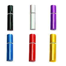 Top Sale Mini Portable For Travel Aluminum Refillable Perfume Bottle With Spray&Empty Cosmetic Containers With Atomizer(China)