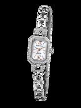 02c657fa2ab Royal Crown joyería reloj 6538 s Italia marca diamante Japón MIYOTA plata  platino pulsera 15