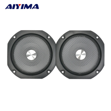 2Pcs 4Inch Speaker Cover Subwoofer Audio Protection Speakers Protective Net Tweeter Grille Waffle Mesk Grills  Speaker Iron Mesh