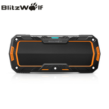 BlitzWolf Mini Bluetooth Waterproof Speaker Wireless Portable Outdoor Hands-Free Speakers For iPhone 7 6s 6 Plus Smartphone(China)