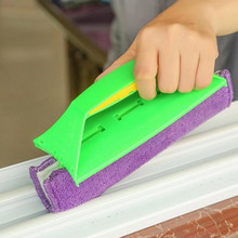 2017 New product Sponge Multi-Function Cleaning Brush window cleaner Groove Cooker Crevice Home Wash cleaning brush Clean Tools(China)