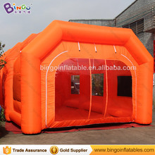 Portable Auto Paint Booth, 10*5*3.5M Car Used Spray Booth for Sale, Inflatable Spray Booth for Car Painting Booth Toys