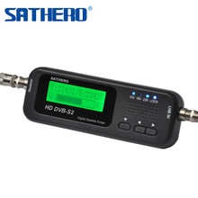 Sathero SH-100 HD DVB-S2 Digital Satellite Finder Satellite Meter LCD Display USB 2.0 High Quality Signal Sat Finder(China)