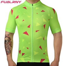 FUALRNY Cycling Jersey 2017 Pro Team Men Summer MTB Road Bike Jersey Breathable Cozy Bicycle DH Jersey Cycling Clothing(China)