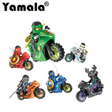 [Yamala]258A Hot Ninja Motorcycle Building Blocks Bricks toys Compatible legoINGly Ninjagoed kids gifts - Yamala Store store