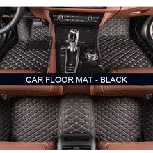 car floor mats for Jeep Grand Cherokee Wrangler Commander Compass Patriot 3D car-styling Custom floor mats Free shipping(China)