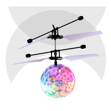 Toy EpochAir  Flying Bal Helicopter Ball Built-in Shinning LED Lighting for Kids Teenagers Colorful Flyings for  Kids Toy