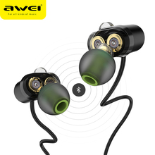 Buy AWEI X650BL Bluetooth Earphone Wireless Headphone Neckband Headset Earpiece Phone Casque Auriculares Kulakl k Fone de ouvido for $25.99 in AliExpress store