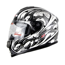 Hot Promotion Full Face Motorcycle Helmet Motor Bike Racing Casque Protective Capacete Casco YS801 L-XXL