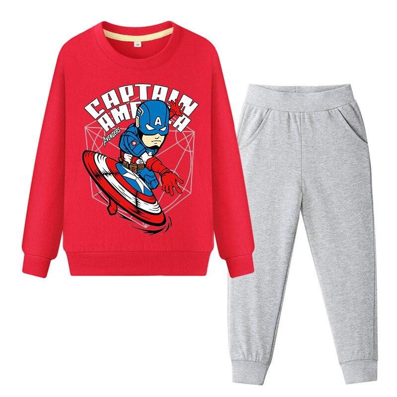 Avengers Pajama Set T Shirt Long Sleeves Pants