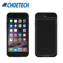 "CHOETECH Battery Case For iPhone 8/7/6/6S 2850mAh Portable Power Bank External Pack Backup Battery Charger Case for iPhone6 4.7""(China)"