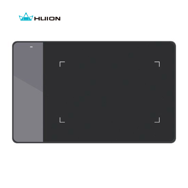 Huion 420 Digital Graphics Drawing Tablet  OSU Game Tablet Pen Pressure Signature Pad with Battery Pen -- Black and White<br>