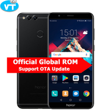 Global ROM Huawei Honor 7X 4GB 32GB Mobile Phone Octa Core Dual Rear Camera 5.93'' 2160*1080P Fingerprint Android 7.0(China)