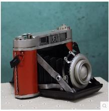 Figurines Handicrafts vintage Antique Single Lens Reflex Camera Model Home Decoration Furnishing Articles Free Shipping